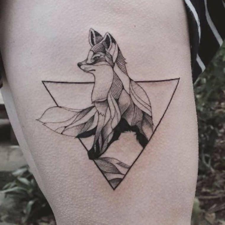 tatuajes simetricos