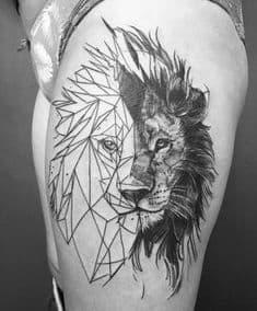 tatuajes geometricos brazo