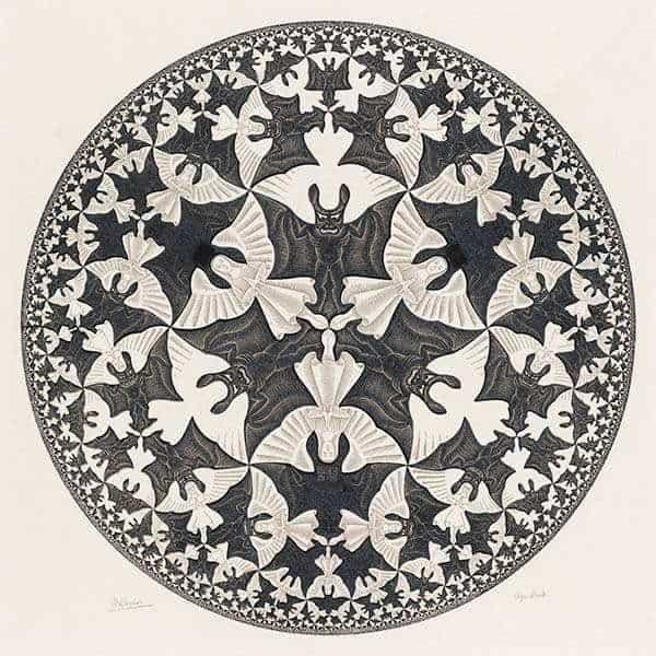 Teselado circle limit 4