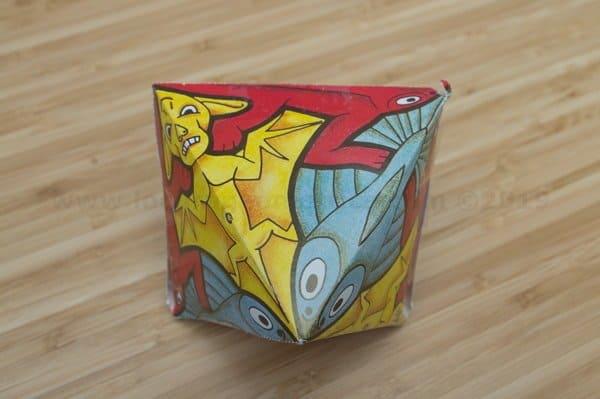 escher Calidociclo de papel con peces