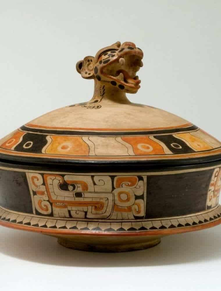 ceramica vasija maya
