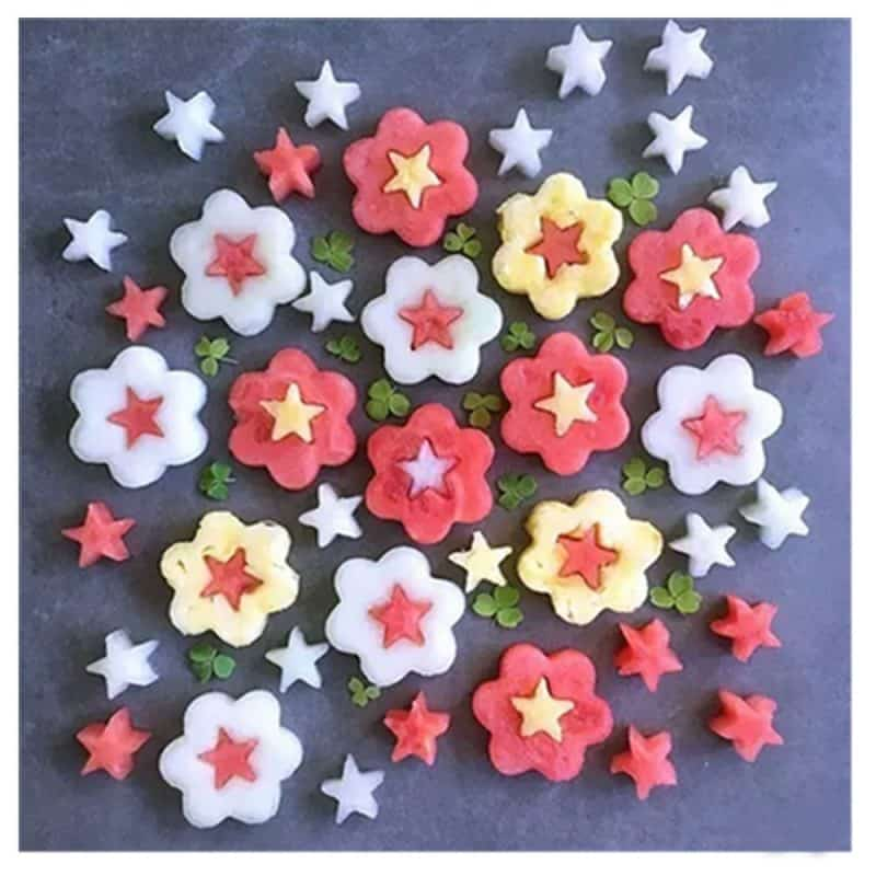 """reposteria"" de Flores de colores"