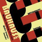 Diseño de cartel de la escuela Bauhaus