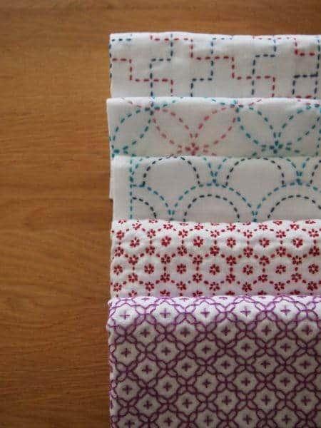 sashiko patrones