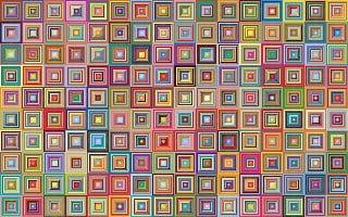cuadrados de bonitos colores