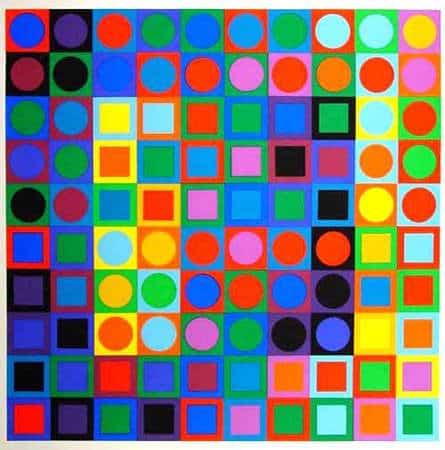 Cuadrados y círculos