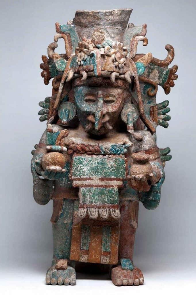 dios maya de la lluvia