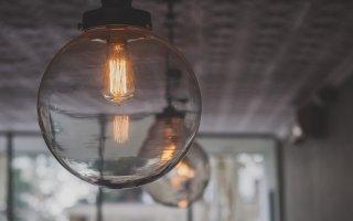 esferas bombillas decoracion