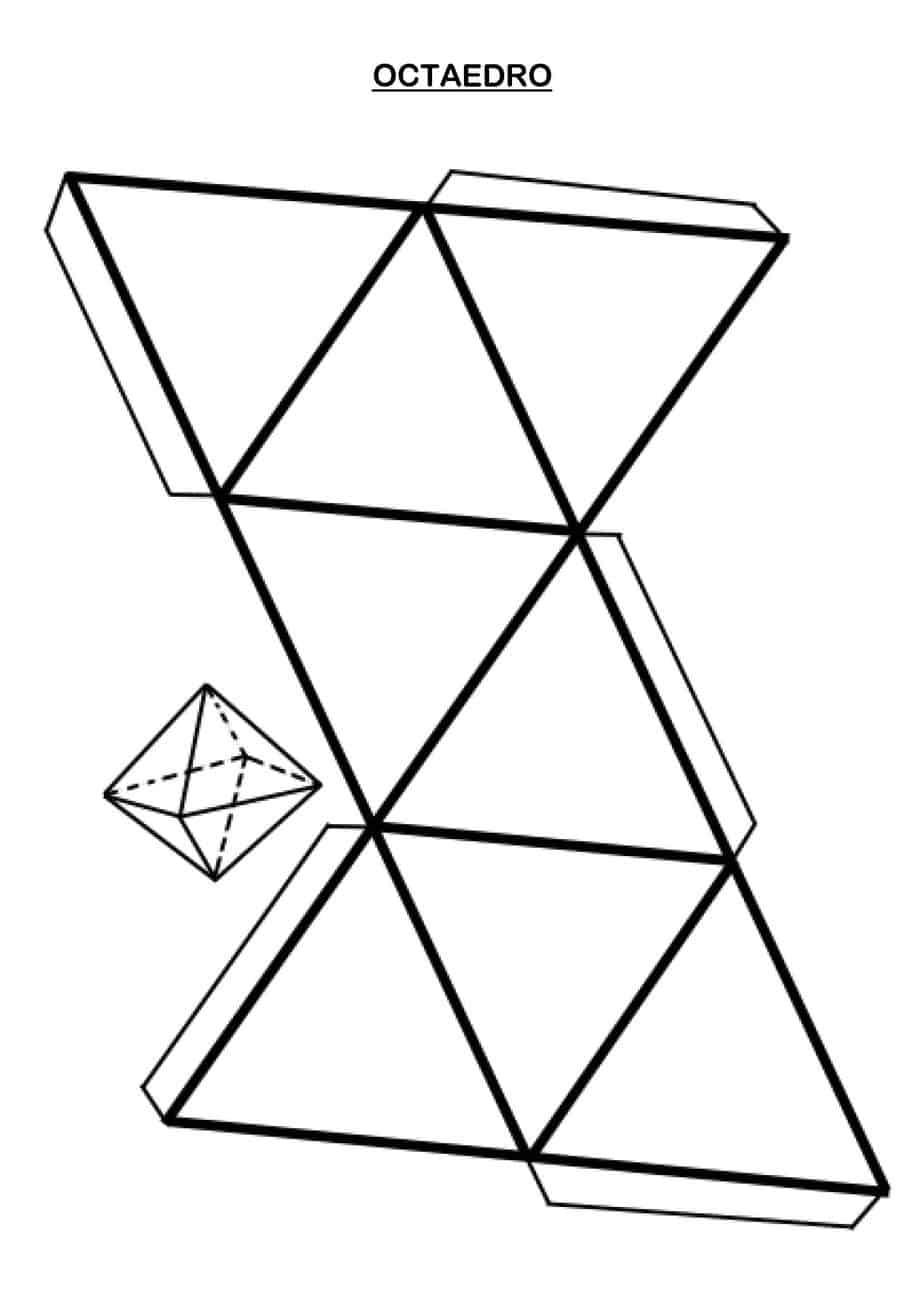 Figuras Cuerpos Geometricos Para Armarpdfimagen