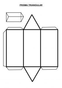 plantillas de prismas y piramides
