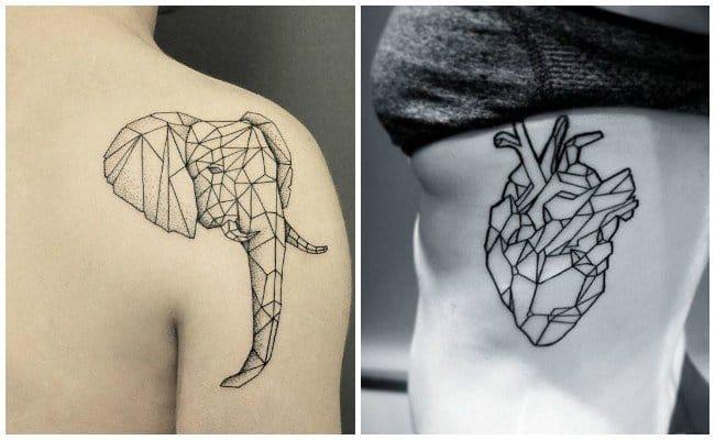 tatuajes geometricos pequeños