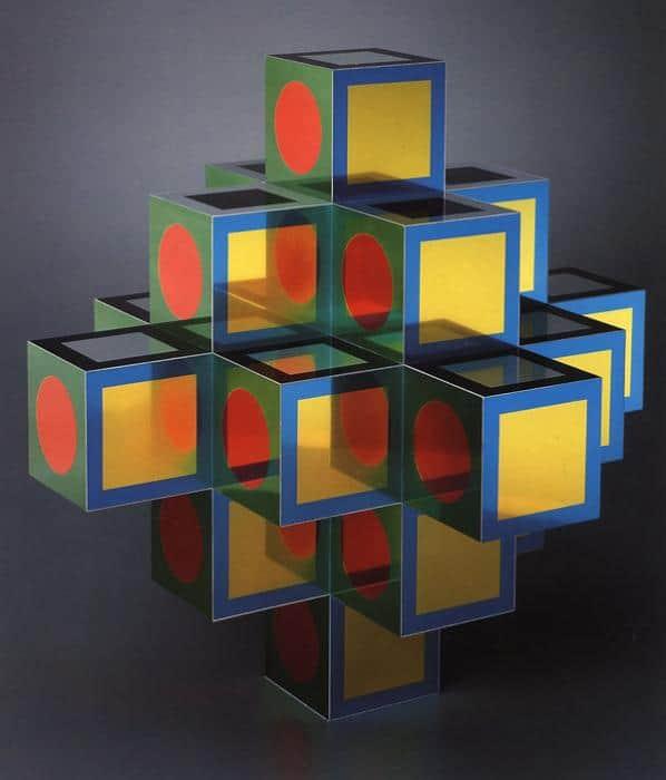 Cubos de colores